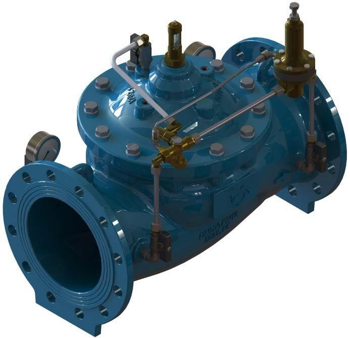 Idrovalvole di regolazione a membrana - Portata pressione ...