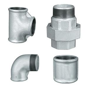 Raccordi ghisa malleabile zincati infissi del bagno in bagno for Raccordi per tubi in rame e plastica