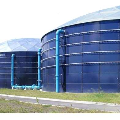 Strutture modulari per la realizzazione di serbatoi e silos