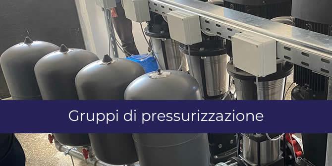 Gruppo di pressurizzazione