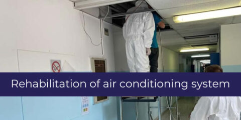 Rehabilitation of air conditioning system